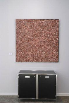 Peinture aborigène, Arts d'Australie, Stephane Jacob, Paris