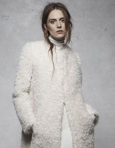 Ashley B » Fall Winter 2014 // White on White.