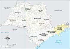 São Paulo - Conheça seu Estado (História e Geografia): 22 - Vale Paraíba Paulista (Mesorregião)