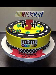 nascar birthday cake ideas