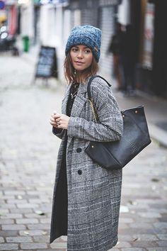 New Mode, Mode Décontractée, Veste Prince De Galles, Manteau Femme, Manteau  Oversize, Mode Grise, Mode Urbaine, Tenue Femme, Mode Femme 8dbf639b5e87