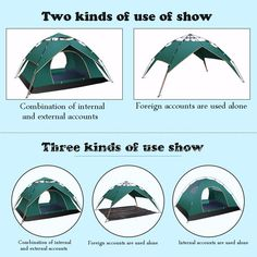 91.99$  Watch here - http://alijst.shopchina.info/go.php?t=32793233979 - Three ways to use 3-4person Windproof Waterproof Anti UV Double layer Tent Ultralight Outdoor Hiking Camping Tent Picnic tent 91.99$ #bestbuy