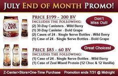 We get great discounts as consultants!!  http://naturalhealing.zealforlife.com
