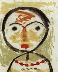 Paul Klee  ' Fragt Sich' (Wonders)