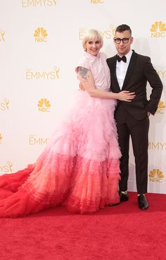 Let's Talk About Lena Dunham's Emmys Dress #Refinery29