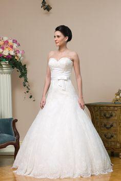 Rochii de Mireasa- Colectia 2011 Calin Events M48, One Shoulder Wedding Dress, Weddings, Wedding Dresses, Model, Fashion, Bride Dresses, Moda, Bridal Gowns