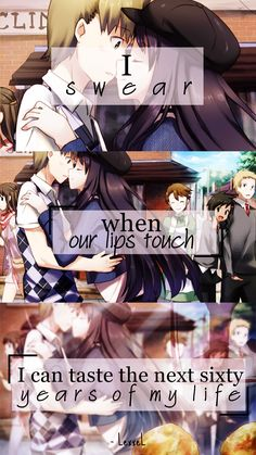 Tags: Katawa Shoujo, Anime Quotes <3