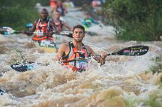 Birkett & Solms charge to Day One Dusi leads Marathons, Canoeing, African, Led, Marathon, Rowing