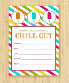 popsicle preview Freebie Friday: Cool Off With a Popsicle Party