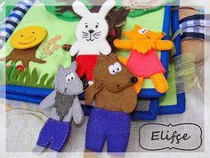 Мастерская Elifçe : Развивающая книжка №6 для мальчика.