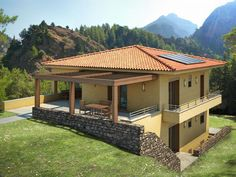 best architecture house the world outdoor living space one Home Design, Modern House Design, Houses On Slopes, Hillside House, Kerala Houses, House In Nature, Underground Homes, Small House Plans, Amazing Architecture