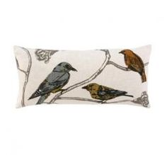 Chinoiserie Pillow: Dwell Studio.
