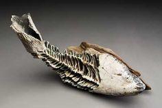Lisa Merida-Paytes. skeletal fish sculpture