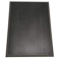 "Rubber-Cal ""Door Scraper"" Commercial Entrance Mat - 5/8-inch thick x 3ft x 6ft Rubber Doormats"