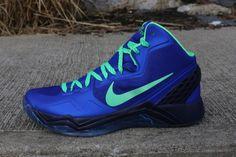 Nike Zoom Hyperdisruptor Hyper Blue Poison Green