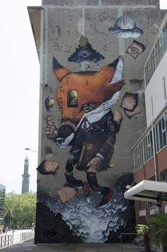 Veks Van Hillik - Grenoble Street Art Fest