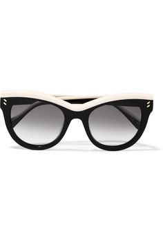 Shop on-sale Stella McCartney Cat-eye acetate sunglasses. Browse other discount designer Sunglasses & more on The Most Fashionable Fashion Outlet, THE OUTNET.COM