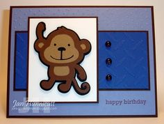 Simply Handcrafted: More Kids Birthday Cards