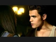 Elenas and Stefans morning make-out session -The Make Out Session, Perfect Abs, The Descent, Stefan Salvatore, I Remember When, Paul Wesley, Nina Dobrev, Vampire Diaries, I Love Him