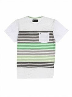 76e646e6b0 Camiseta Billabong Men s M9053BON Bond Crew Neck Shirt White  Camisetas   Billabong