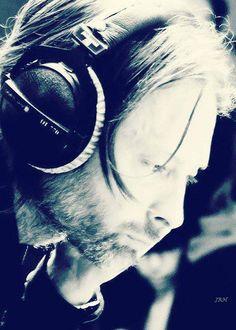 Radiohead's voice. Thom Yorke.