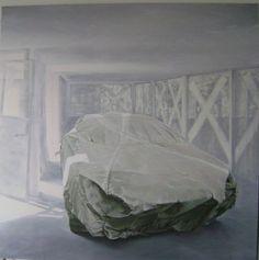 Artist: Zoltán Béla - Spectre 200 x 200 cm, oil on canvas Urban Landscape, Oil On Canvas, Artist, Painting, Design, Home Decor, Homemade Home Decor, Painted Canvas, Painting Art