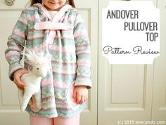 Pattern Review: Andover Pullover Top From Terra's Treasures