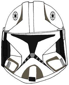 Clone Trooper Pilot Broadside's Helmet