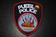 Pueblo Police Patch, Pueblo County, Colorado (Current Issue)