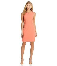 Antonio Melani Anais Pintucked Dress #Dillards color nectar