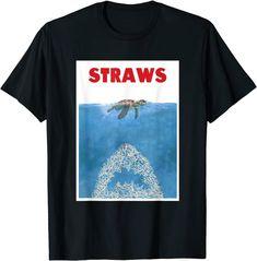 Save The Sea Turtles Anti Straws T-Shirt: Amazon.de: Bekleidung Amazon T Shirt, Save The Sea Turtles, Shirt Price, Chemises Cool, Mens Tops, Straws, Amazon Fr, Shirts, Global Warming