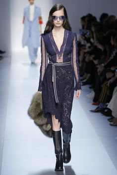 Ermanno Scervino Fall 2017 Ready-to-Wear Fashion Show - Anastasia Orlova