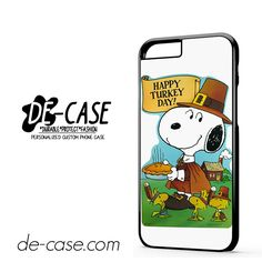 Snoopy Happy Turkey Day DEAL-9759 Apple Phonecase Cover For Iphone 6 / 6S
