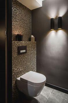 Geweldig prachtige decoratie badkamer zwart wit goud schilderen badkamer ... - #Badkamer #decoratie #Geweldig #goud #Prachtige #schilderen #wit #zwart