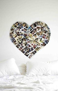Mural de Fotos - Coração