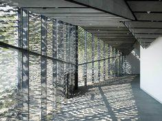 kengo kuma china academy of art's folk art museum hangzhou designboom tile/ wall/ architecture/ façades Kengo Kuma, China Architecture, Vernacular Architecture, Architecture Design, Canopy Architecture, Landscape Architecture, Art Village, Hangzhou, Tianjin