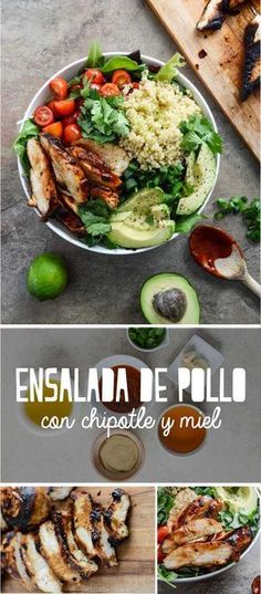 Saludable y extremadamente rico. Ensalada de pollo con chipotle y miel – Ye İç – Yemek tarifleri Healthy Cooking, Healthy Eating, Cooking Recipes, Clean Recipes, Healthy Recipes, Healthy Meals, Comida Diy, Deli Food, Nutrition