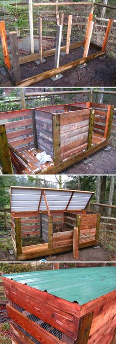 Build The Ultimate Compost Bin.