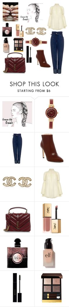 """🎀"" by mihaelamihu ❤ liked on Polyvore featuring Anne Klein, Rachel Comey, Sergio Rossi, Chanel, Yves Saint Laurent, e.l.f., Gucci and Tom Ford"