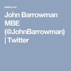 John Barrowman MBE (@JohnBarrowman) | Twitter