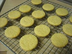 Baby cookies using rice cereal. would be cool to give some of the stuff so mom's could make it..