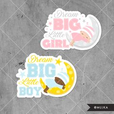 DREAM-BIG-LITTLE-ONE-WORD-ART-GRAPHICS-CLIPART Custom baby lettering and word art. www.mujka.ca