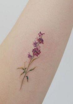 Floral tattoo delicate top design ideas 53