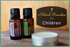 7 Natural Remedies for Kids ~ Herbs for calming, sleeping, tummy aches, bruises and more
