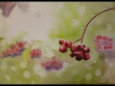 Taming Watercolor, Painting a Variegated Wash , step vy step tutorial and video