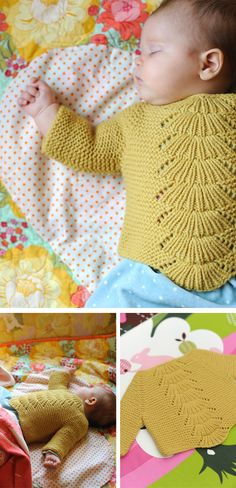 Baby knitting pattern in Clothing, dresses and bodysuits for babies and kids- I'd like to learn to knit Knitting Club, Knitting For Kids, Knitting Projects, Start Knitting, Baby Knitting Patterns, Baby Patterns, Pull Bebe, Baby Kind, Baby Sweaters