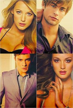 Blake Lively, Chace Crawford, Ed Westwick, and Leighton Meester.......