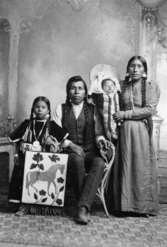 Louie Judge and his family - Spokane - no date