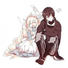 Kagerou project Mary and kuroha