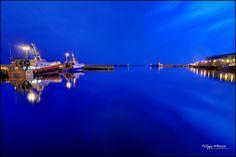 blue hour - Le port du Guilvinec by philippe MANGUIN photographies, via Flickr